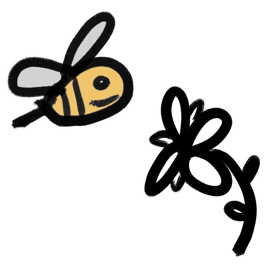 Logo High Sierra Honeybees